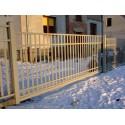 450cm x 155 cm brána balustrádová posuvná