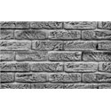 kamenný obklad MAGICRETE - HANDBRICK bílý 0015
